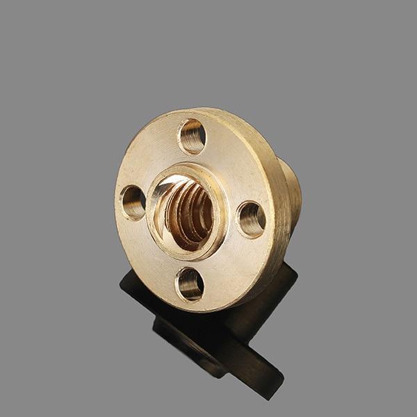 Wholesale Price 8mm T Type Lead Screw Nut Brass Nut For CNC 3D printer Parts 3D printer Parts Accessories