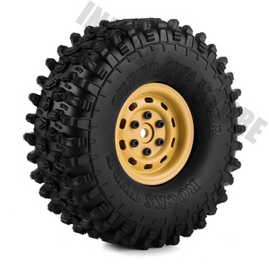 "Image 5 - 4PCS 1.9"" Metal Beadlock Wheel Rim for 1/10 RC Crawler Car Axial SCX10 Tamiya CC01 D90 Defender Traxxas TRX 4 Wheel Hex"