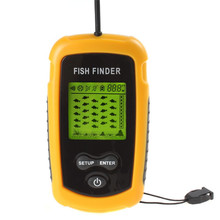 Sonar Fish Finder Waterproof Wireless Fishfinder For Boat Beach Sea Ice Fishing 100m Depth LED back-lighting
