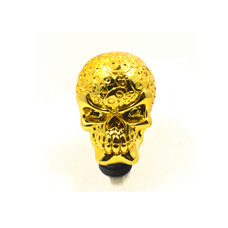 Hot Specials manual transmission Modified car gear shift knob automotive generic alloy skeleton head gear knob gold