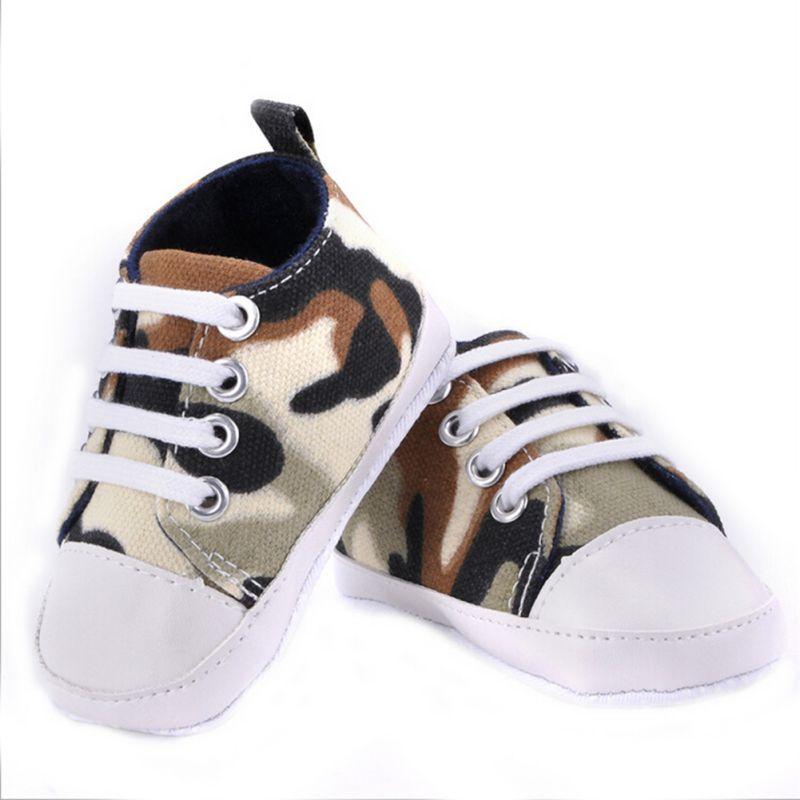 0-18M 9 Styles nouveau-né bébé filles garçons automne toile premiers marcheurs chaussures doux décontracté Prewalkers décontracté infantile bambin chaussures 4