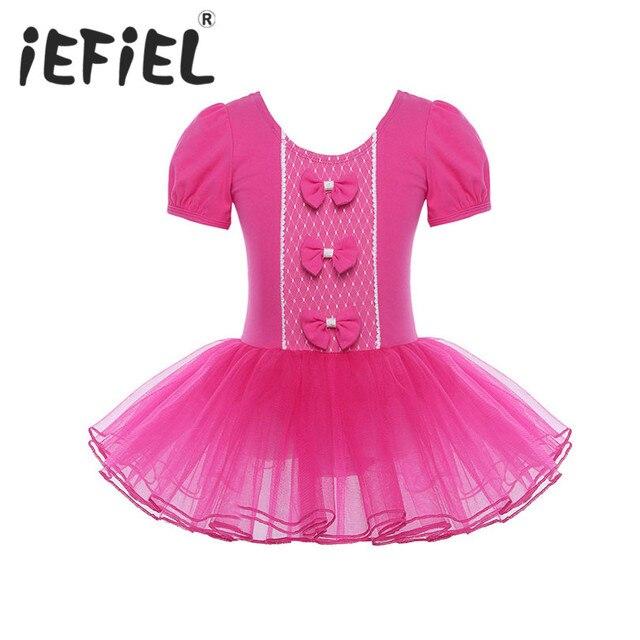 f6b67a0b1 Flower Girls Tulle Tutu Dresses Princess Ballerina Fairy Party ...