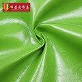 Semi pu sofá de couro tecido de couro de cera de petróleo couro diy saco de pano artesanal duro macio materiais de superfície brilhante