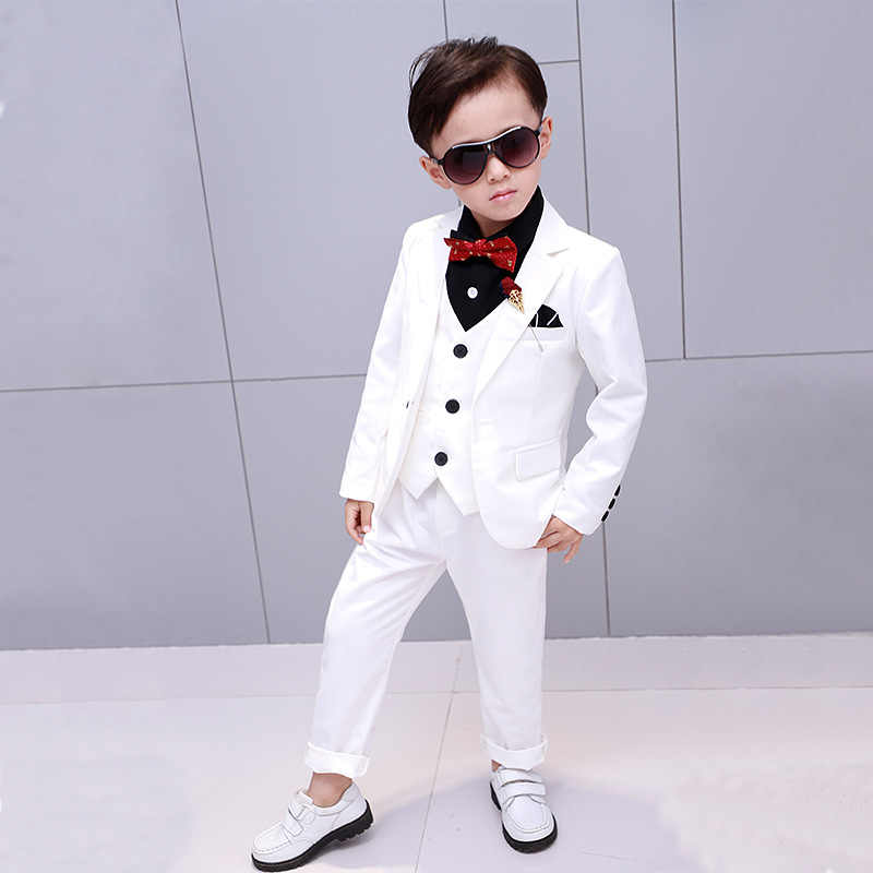 9b40cd20a Detail Feedback Questions about Brand Flowers Boys Formal Suit ...
