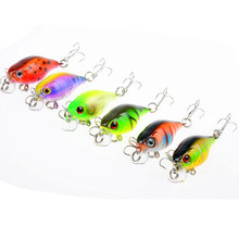 Hot Sell 4.5G 4.3CM Bass Fishing Lures Crank Bait Tackle Swim bait wobblers fishing japan Hard Crazy Fish Lure FA-313