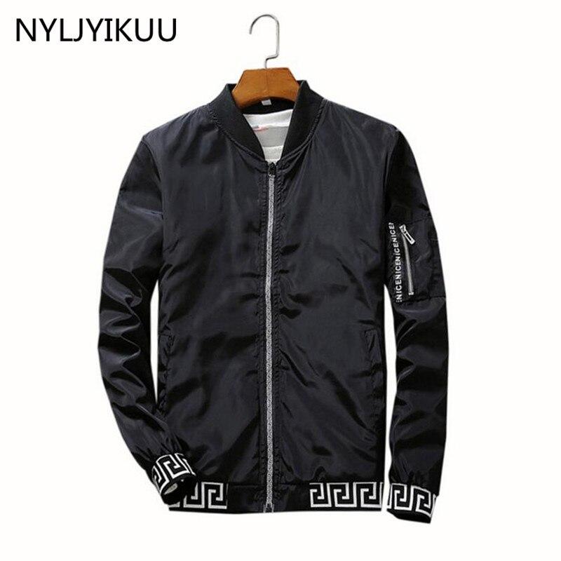 Jackets Men 100% High Quality basic coats New Jacket Men's bomber Jacket good Men Fashion Thin Windbreaker