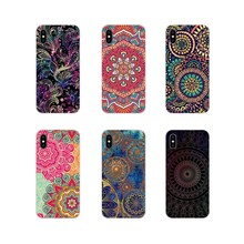 Silicone Shell Cases For Xiaomi Redmi Note 6A MI8 Pro S2 A2 Lite Se MIx 1 Max 2 3 For Oneplus 3 6T Floral Paisley Flower Mandala(China)