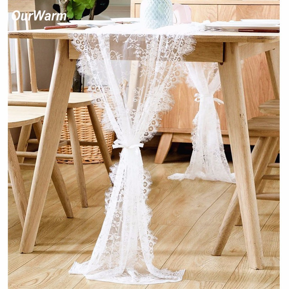 Aliexpress.com : Buy OurWarm Lace Table Runner Wedding