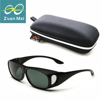 Zuan مي ماركة جولة الاستقطاب الرجال مجموعات من النظارات مرآة النظارات المستقطبة للرجال سباق نظارات uv400 Z3009