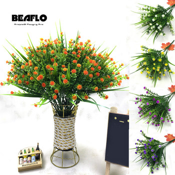 1 Bouquet Fake Little flowers Heads DIY Gypsophila Simulation Artificial Fake Flower Baby's Breath Wedding Home Decoration