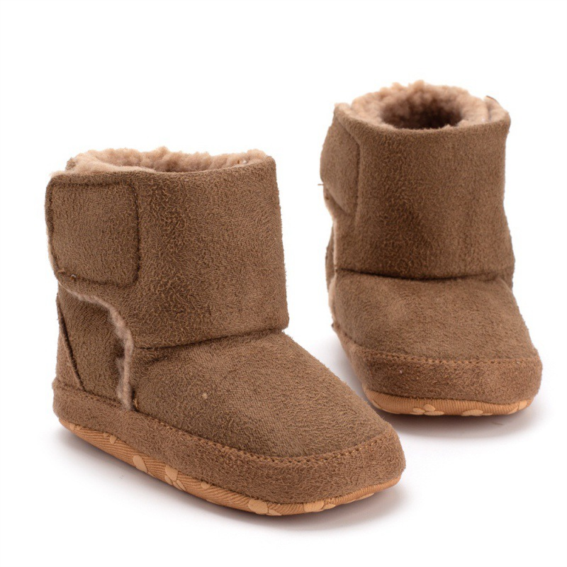 Warm Baby Cotton Boots 2018 Winter New Non-slip Soft Bottom Baby Shoes Newborn Toddler Shoes Infant Snow Boots