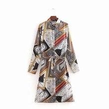Women Print Dress Summer Baggy Slim Retro Long Elegant Mid-Calf Casual Vintage A-Line Beach Sundress with T