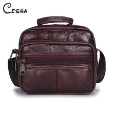 Luxury Genuine Leather Man Handbags font b Shoulder b font font b Bags b font Male
