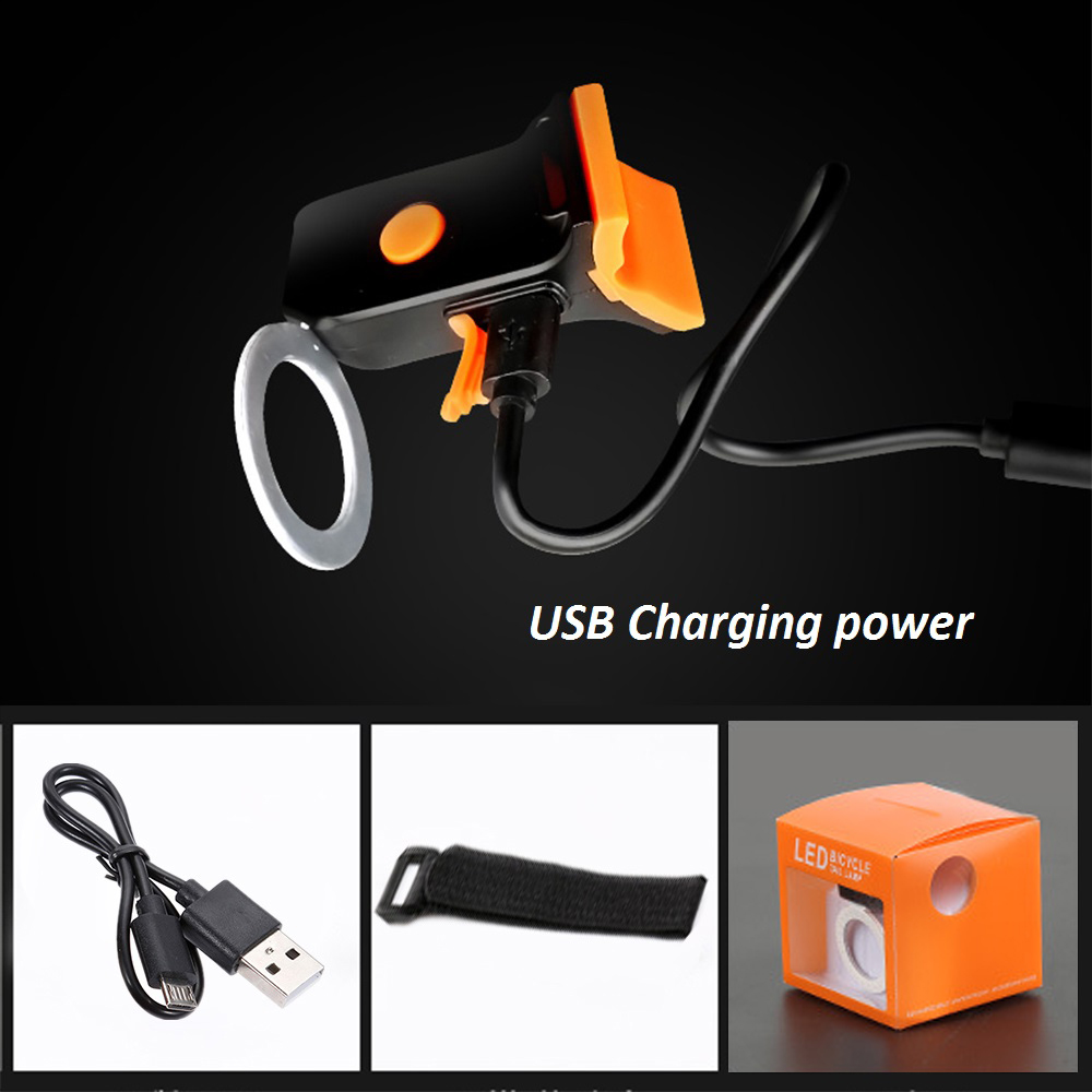 Multi Lighting Modes, Bicycle Light, USB Charge Led Bike Light Flash Tail Rear 2