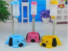 Dog Cat Bowl Auto Adjustable  Drinking Fountain