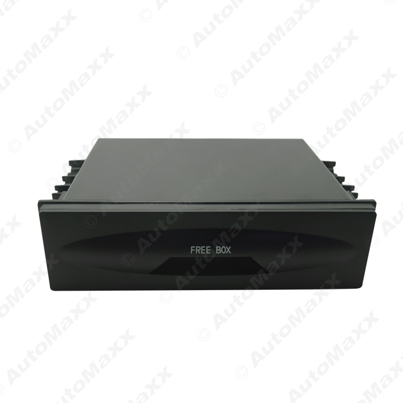 1DIN Size Car Stereo Dashboard Installation Mounting Refitting Trim Fascia Spacer Pocket Cassette Drawer Storage Box