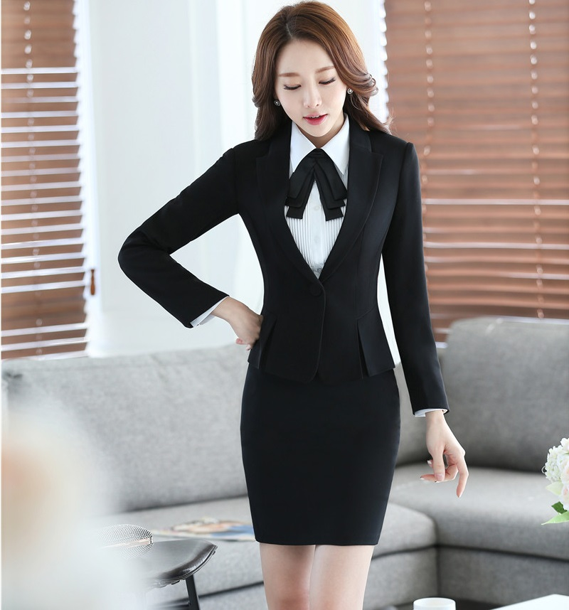 new autumn winter formal uniform design blazers suits. Black Bedroom Furniture Sets. Home Design Ideas