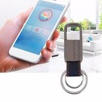 Smart GPS Tracker Bluetooth Anti Lost Alarm Key Finder Locator Intelligent Keychain Bluetooth Key Chain For
