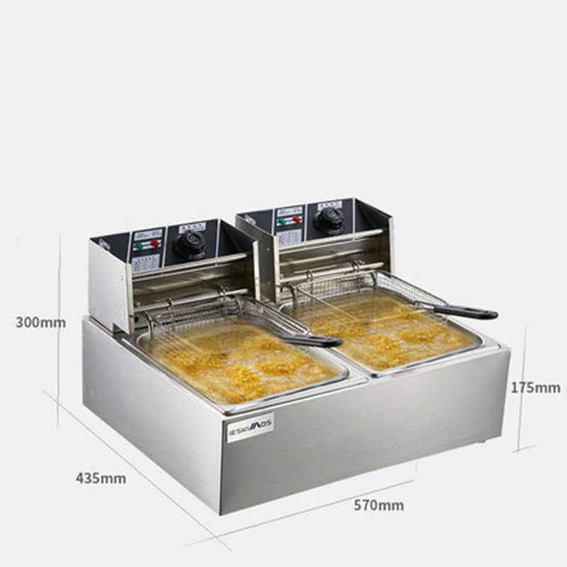 Kfc restaurant apparatuur keuken apparatuur druk friteuse machine kfc tornado aardappel friteuse lucht friteuse elektrische friteuse elektrische