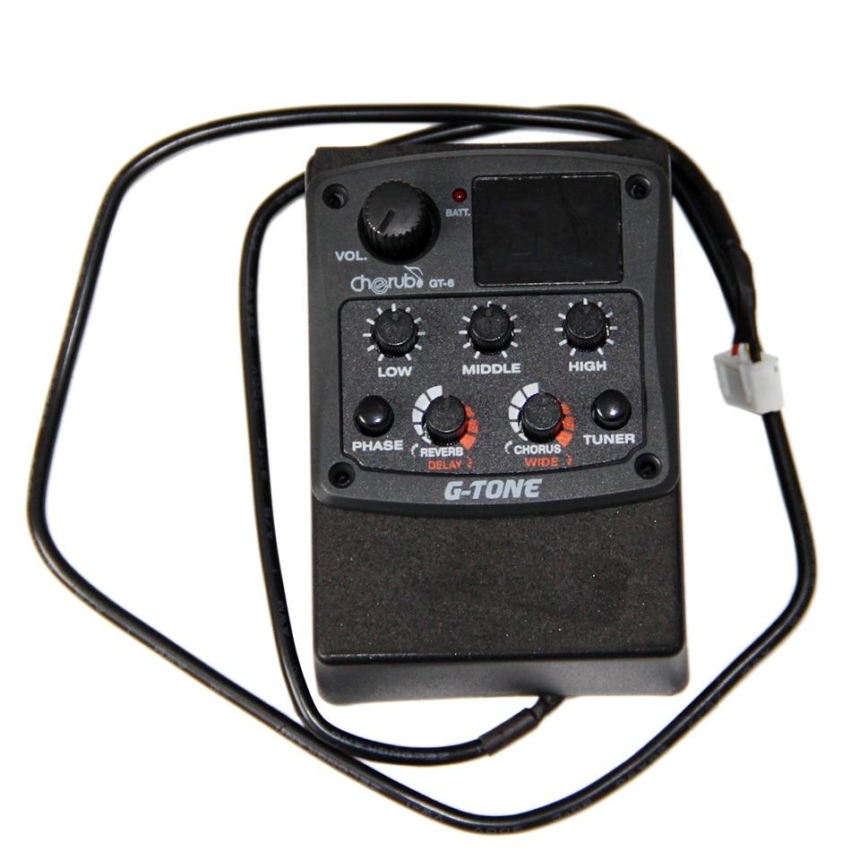Cherub GT-6 Preamplificador de guitarra acústica Ecualizador de - Instrumentos musicales - foto 2