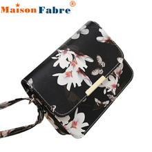 2017 Luxury Brands Floral Leather Shoulder Bags For Women Crossbody BagsHandbags Women Bags Designer Bags For Girl
