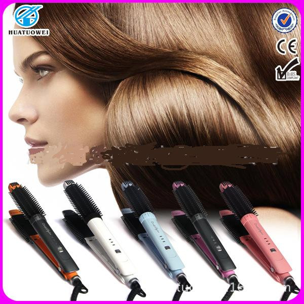 2 in 1 hair curling iron ceramic hair straightener 32mm curler iron hairdressing straighter products pranchas nano titanium iron ckeyin 9 31mm ceramic curling iron hair waver wave machine magic spiral hair curler roller curling wand hair styler styling tool