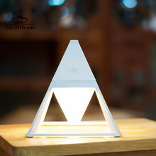 Hot Sale Pyramid Practical Touch Switch Table Lamp Waterproof Art Deco Eye Protection Desk USB Mini Bedside
