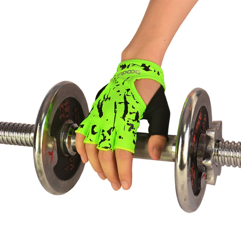 Women Half Finger Sports <font><b>Gym</b></font> Crossfit <font><b>Gloves</b></font> Outdoor MTB Road Cycling <font><b>Gloves</b></font> Slip-Resistant <font><b>Gloves</b></font> for Fitness Training Exercise