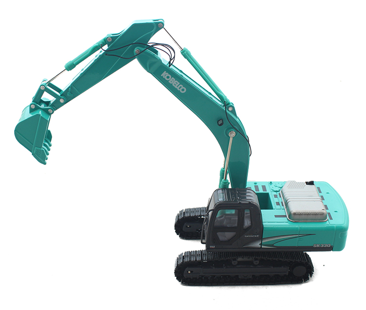 Special offer 1/50 KOBELCO SK330 alloy excavator model Alloy engineering model Collection model Holiday gifts