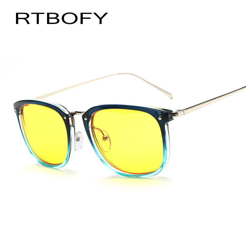 RTBOFY Blue Light Proof Glasses Brand Design Sunglasses Blue Ray Proof Goggles WDH8111-4