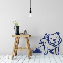 Pee Dog Wall Sticker Bedroom Living Room Puppy Pet Piss Dog Animal Wall Decal Baby Nursery Kids Room Vinyl Home Decor Play Room