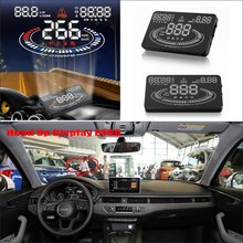 For Audi TT A1 A3 A4 A5 A7 Q3 Q5 Q7 RS TTS - Car HUD Head Up Display  - Saft Driving Screen Projector Refkecting Windshield цена в Москве и Питере