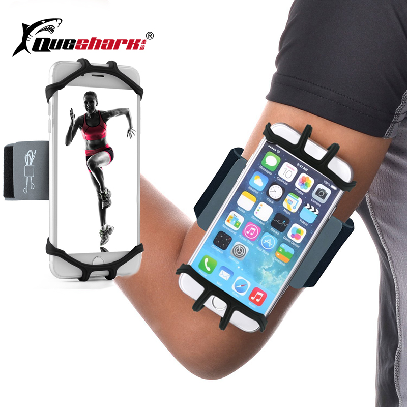 Running Armband Bag Sport Silicone Band Phone Holder for