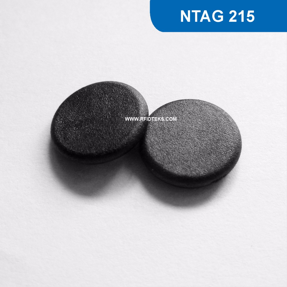 G13 Dia 13mm RFID Mini Tag Passive RFID high temperature NFC Tag 13.56MHZ 504BYTES R/W ISO14443A with NTAG 215 Chip