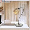 М Регулируемый Свет Стол Краткий Современный Кристалл Декоративные Настольные Лампы Личность Стиль Спальни Исследование Гостиная Лампы