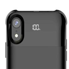 Зарядное устройство для Iphone X XS XR XS Max батарея чехол мощность отдельный беспроводной зарядки батарея Чехол Smart цифровой дисплей