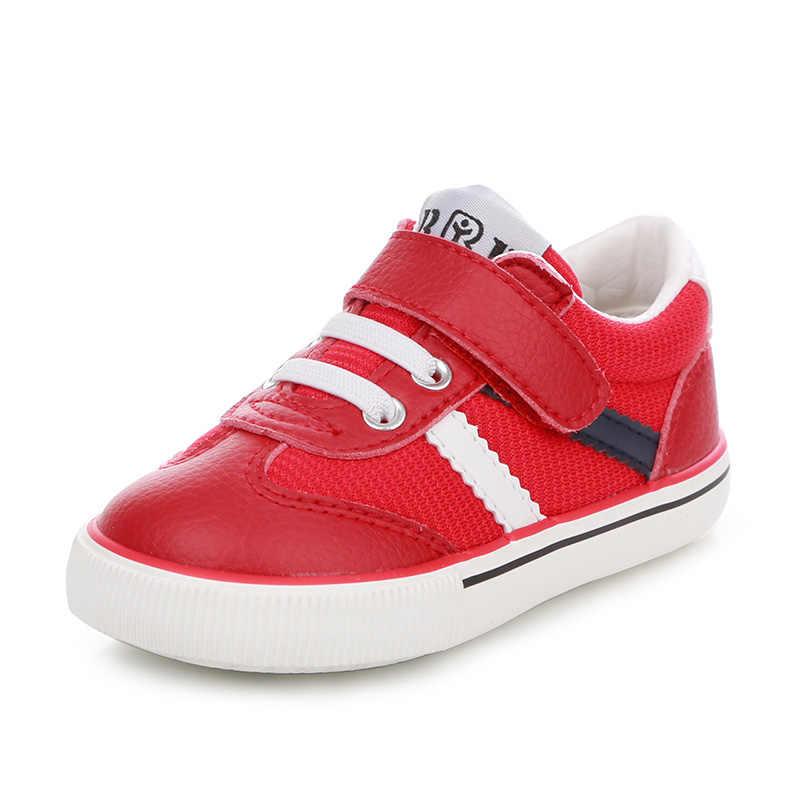 ילדי נעלי ילדי נעלי ספורט נעלי בנות בני sneakersTong Baobao 2017 אביב ובסתיו אוויר חדש נעלי ריצה
