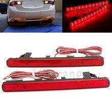 12 В Хвост Стоп тормозной задний бампер отражатель светодио дный для Acura TSX седан 09-14 для соглашения Предупреждение ночного вождения Туман лампа