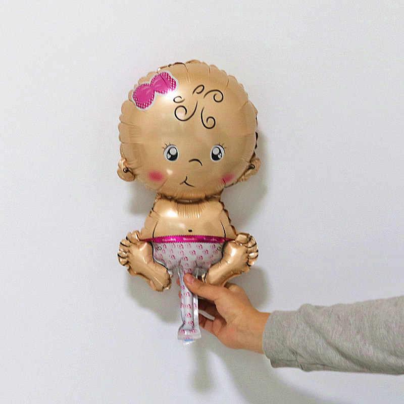 מיני תינוקת ילד את 1th יום הולדת בלוני שמש 100 ימים מסיבת קישוט כדור ילדים צעצוע האכלת בקבוק רגל בלון