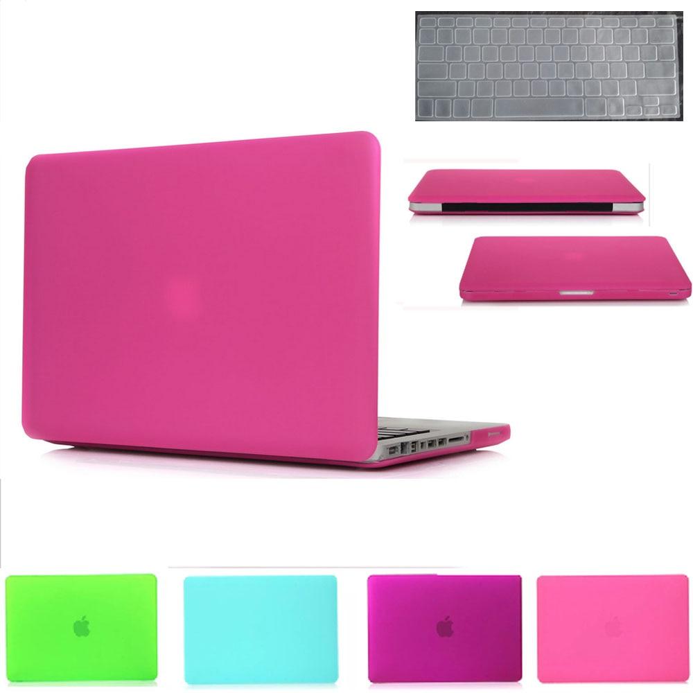 Ordinateur portable Case new mat rose rouge pour Macbook Pro 13/retiana 12 13 accessoires