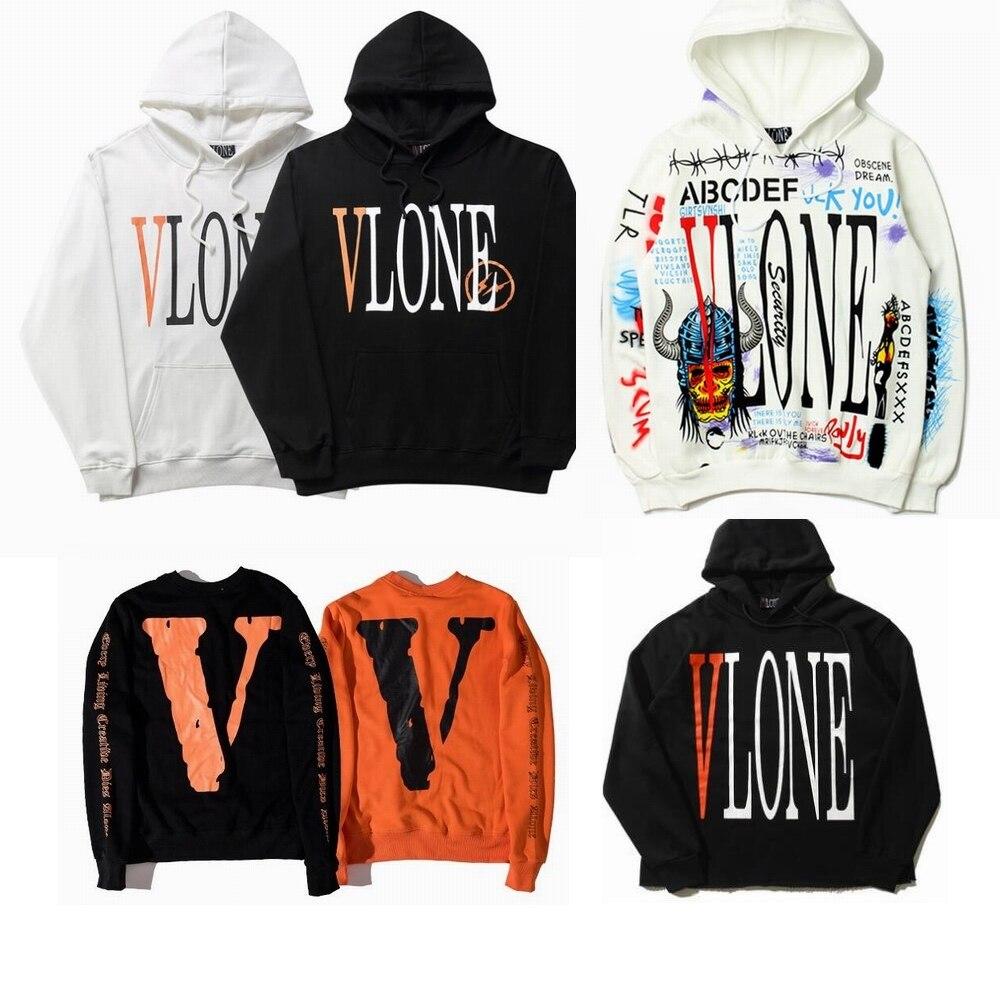 74cd75a61 Vlone Sweatshirt Men Women 1:1 High Quality Camouflage Friends V ...