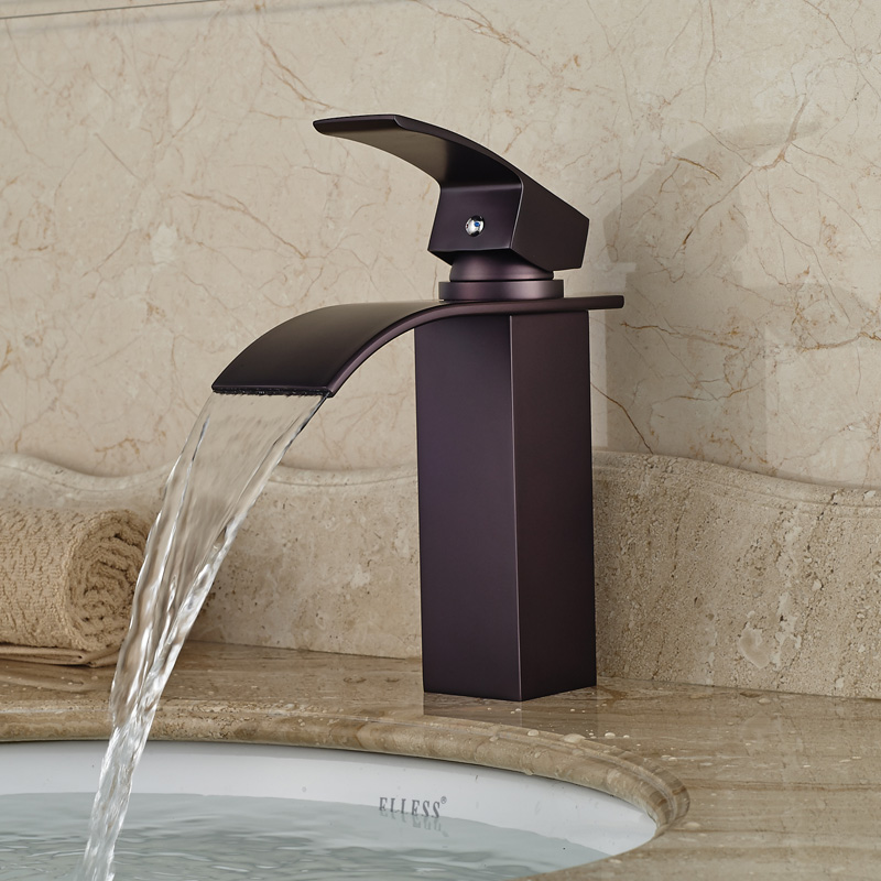 Vanity Basin Sink Faucet One Handle One Hole Fashionable New Style Oil Rubbed Bronze ebtb wallz one old bronze