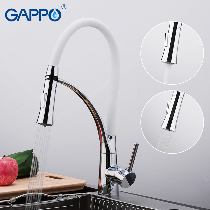 GAPPO Kitchen Faucet With Filtered Water Kitchen Water Tap Brass Water Sink Crane Kitchen Faucet Mixer Water Tap