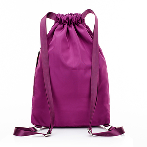 Image 2 - School Backpack for Teenage Girl Mochila Feminina Escolar Women Backpacks Nylon Waterproof Casual Bagpack Female Drawstring