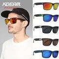 KDEAM Esportes dos homens Polarizados óculos de Sol Óculos À Prova de Vento Mulheres Polaroid óculos de Sol HD óculos de lente Com Caixa de lentes de sol 5 cores UV400