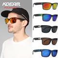 KDEAM Sports men Polarized Sunglasses Windproof Goggles Women Polaroid Sun Glasses HD lens With Box lentes de sol 5 colors UV400