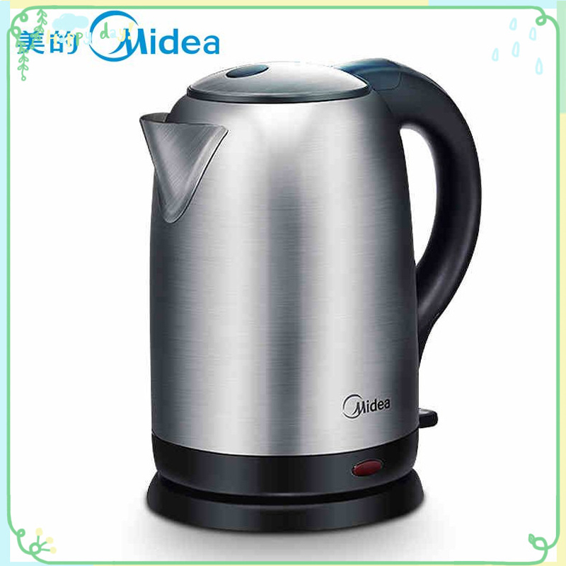 Fashion Digital control Midea water boiler Stainless steel electric kettle 220v health pot tea boiler Smart kitchen kettle 1.7L автомобильный dvd плеер joyous kd 7 800 480 2 din 4 4 gps navi toyota rav4 4 4 dvd dual core rds wifi 3g