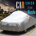 Car Cover Sunshade Vehicle Outdoor Rain Sun Snow Protection Dust Proof Anti UV Car Covers Suit For Mazda 2 323 3 5 626