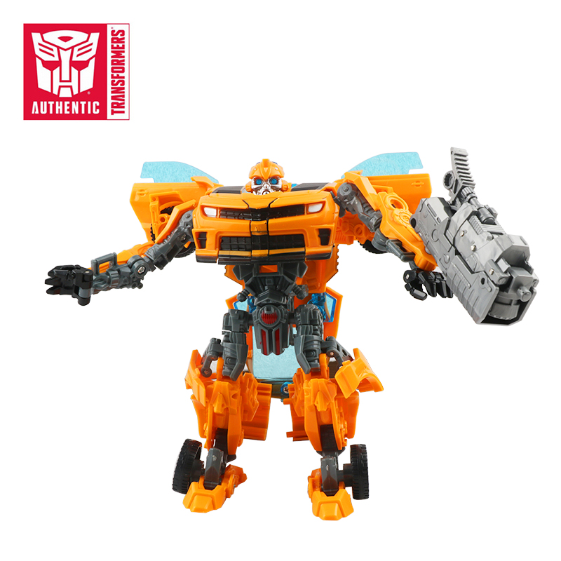 16cm Hasbro Transformers Bumblebee Car Action Figure Robot Model Plastic Collection Birthday Gift Cartoon Toy Boy Children character catboy owlette gekko cloak action figure toy plastic for boy birthday gift 6pcs set