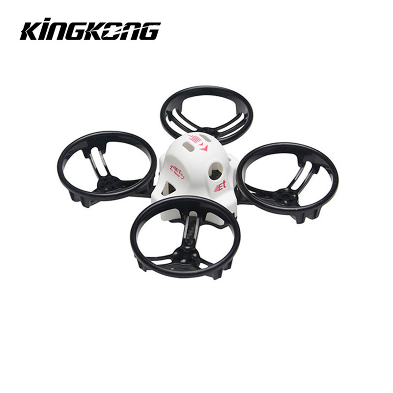 KINGKONG/LDARC ET Series ET100 ET115 100mm 115mm Micro FPV Racing Drone True X Frame Kit for RC Models ESC for Quadcopter Parts diy fpv mini drone qav210 zmr210 race quadcopter full carbon frame kit naze32 emax 2204ii kv2300 motor bl12a esc run with 4s